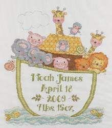 Noah's Ark by Bucilla - Cross Stitch Kits & Patterns