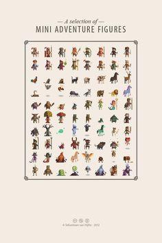 I would very much like to be this good at pixel art. Artist:  Sebastiaan van Hijfte: