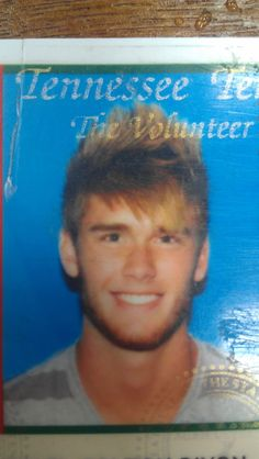 Colton's drivers liscense picture... haha I have no idea how we find these things...