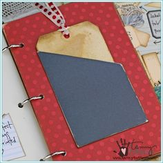 Slash Pocket Steel Rule Die | Tammy Tutterow Spellbinders | www.tammytutterow.com