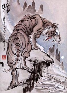 Supreme Tattoos Vol.1 | VK Japanese Tiger Tattoo, Tiger Sketch, Chinese Artwork, Asian Tattoos, Oriental Tattoo, Tiger Art, Tattoo Illustration, Lion Art, Samurai Art