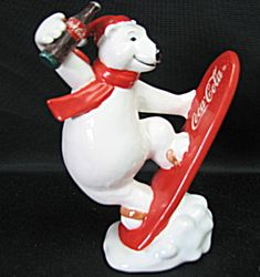 Enesco Coca Cola Polar Bear Figurine (Image1)
