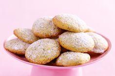 Lemon Poppyseed Biscuits Recipe biscuit-recipes exercise-and-fitness Lemon Desserts, Lemon Recipes, Sweet Recipes, Baking Recipes, Cookie Recipes, Healthy Recipes, Lemon Biscuits, Cream Biscuits, Coconut Slice