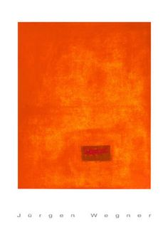 size: Serigraph: Untitled, (Orange) by Jürgen Wegner : This gallery-quality art print was created using serigraphy, also known as silk screening, which produces a bold and vibrant paint-like layer of ink. Fine Art Posters, Room Pictures, 3 Arts, Color Trends, Printing Process, Framed Artwork, Find Art, Screen Printing, Vibrant