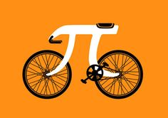 bike + pie symbol = makes @Kathleen Brown happy in strange and wonderful ways