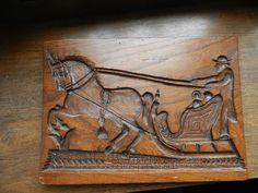 Sammlungsauflösung Antike Backform Spekulatius Holz Model (1)