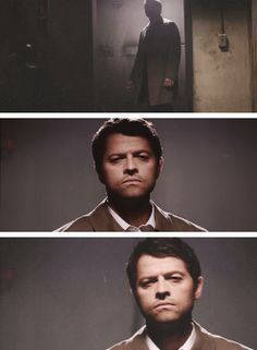 [gifset] Is that... him ? 9x21 King Of The Damned #SPN  #Castiel