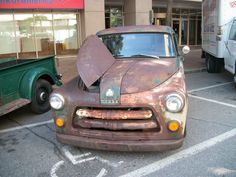 """1954 Dodge C-Series Truck local to me, (I TOOK THIS PICTURE! """"Hemi Patton"""")"""