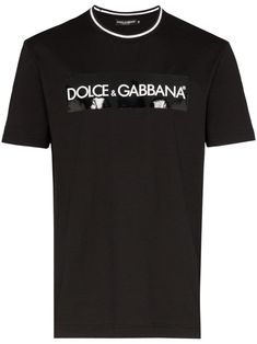 Dolce & Gabbana Black Logo Stretch-cotton T-shirt Dolce & Gabbana, Dolce Gabbana Hombre, Men Style Tips, Mens Clothing Styles, My T Shirt, Stylish Men, Mens Fashion, Street Fashion, Luxury Fashion