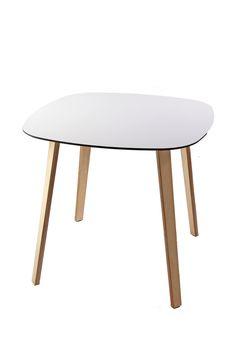 Lottus table in wood structure - Novelties ISaloni2013. #Lottuswood