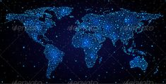 Hi tech wallpapers for desktop and laptops hd wallpapers world map in night sky gumiabroncs Choice Image