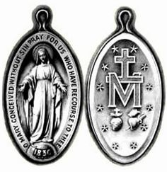 Catholic News World : What is the Miraculous Medal - How to get a FREE one - SHARE - Origin Nov. 27, 1830