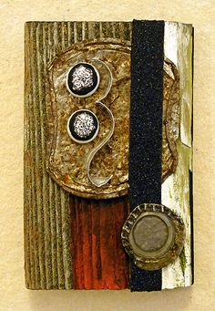 Lid III: found object assemblage by tristanfrancis on Etsy