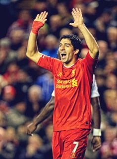 Suarez strikes again in 4-1 victory over West Ham.
