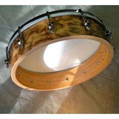 Shackleton Burr Oak Banjo made by The Great British Banjo Company Ltd in #Norfolk