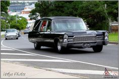 1968 Cadillac Superior Hearse in Australia