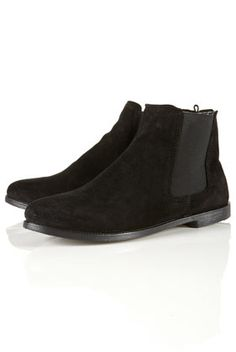 MARVEL SUEDE CHELSEA BOOTS