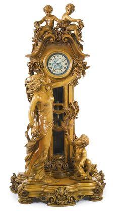 Photo in 5976 Classic Clock Design Ideas Mantel Clocks, Old Clocks, Antique Clocks, Vintage Clocks, Antique Watches, Clock Art, Clock Decor, Desk Clock, Vase Cristal