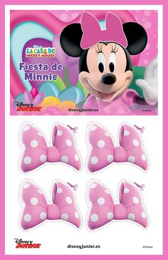 Pin the Bow on Minnie
