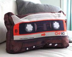 Fancy - Retro Cassette Pillow