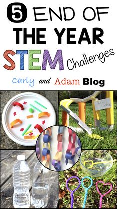 The end of the year is the perfect time to incorporate hands-on projects and cooperative activities. 4th Grade Activities, End Of Year Activities, Science Activities, Science Lessons, Engage In Learning, Stem Learning, Cooperative Learning, Kindergarten Stem, Preschool