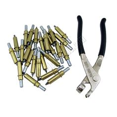 Cleco fasteners for temporary holding of sheet metal panels