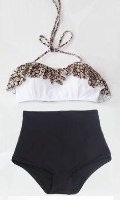 Yüksek Bel Bikini Modası bu yaz kumsallarda çok konuşulacak. Modayı yakından takip eden kadınların hoşuna gidecek olan yüksek bel bikini modası modahane de.