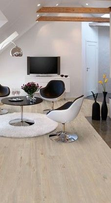 Lichte houtlook pvc vloer. Pro Fix - Pure pine: Pvc click laminaat vloer (558)…