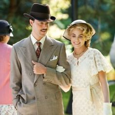 Television shows and films that embrace the old fashion clothing styles of the Victorian era and the 20's.