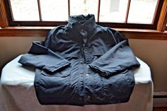 Blauer Black Gore-tex Winter Jacket Men's XL 48-50  Police Sheriff EMT Coat #Blauer #FieldJacket