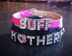 Buff Mother Rhinestone Charm Bracelet Set Charmsations - http://www.charmsations.com/#oid=1276_1  www.facebook.com/blingflingfun