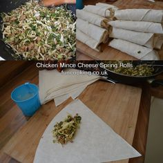 Fun Cooking - Page 3 of 78 - Yummy Recipes Real Food Recipes, Yummy Food, Yummy Recipes, Ramadan Recipes, Spring Rolls, Fun Cooking, Finger Foods, Meal Planning, Appetizers