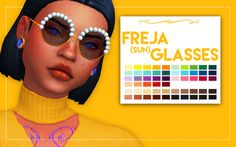Lana CC Finds - Freja Glasses & Sunglasses