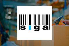 Web de SIGA. Sistema Integral de Gestion de Almacenes. Tech Companies, Company Logo, Logos, Warehouses, Design Web, Management, Logo