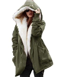 Roiii (Tm) Winter Clothes Loose in the Long Paragraph Slim Coat (XX-Large, Green). Made from cotton blend fabric, faux fur lining, warm and comfortable. Knitted cuffs keep cold out in the winter. Find More Styles,you can click Roiii to find More. WARNNING: Please note that Roiii is a registered trademark. Roiii is not responsible for other sellers selling a different, inferior quality. if you received the items not by Roiii,it is a fake.