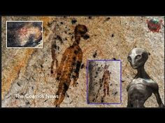 10,000-year-old rock paintings depicting aliens and UFOs found in Chhattisgarh India - Alien UFO Videos