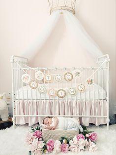 Project Nursery - Flower Newborn Photo Shoot