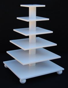3 IN 1 square cupcake holder stand  Cupcake tree by BandD on Etsy, $70.00