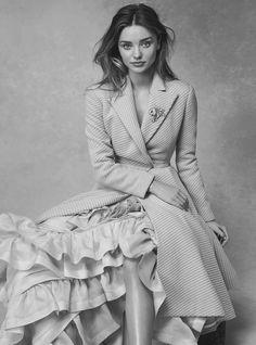 Miranda Kerr by Nicole Bentley for Vogue Australia, July 2014.