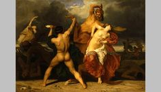 """VMFA Acquires """"Battle of the Lapiths and Centaurs,"""" A Heroic French Painting By Bouguereau"""