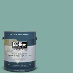 BEHR Premium Plus Ultra 1-gal. #M440-4 Summer Dragonfly Satin Enamel Interior Paint