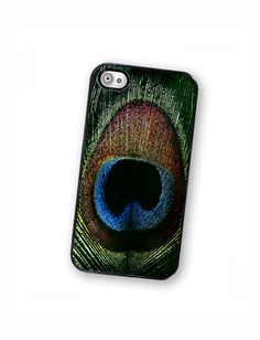 Peacock Feather iPhone Case, Fits iPhone 4 and