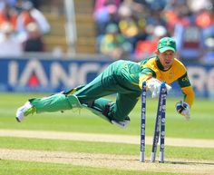 An acrobatic fielder and flamboyant wicketkeeper-batsman is born. AB de Villiers changed into destined to be a sportsman - such changed into his natural