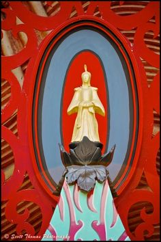 One of several Buddha statues on the Great Movie Ride at Disney's Hollywood Studios, Walt Disney World, Orlando, Flordia