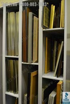 storage of artist canvases - Google Search