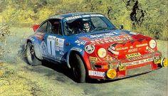 #Porsche 911 #RallyCar taking the corners. #Racing #Speed #Power #Action