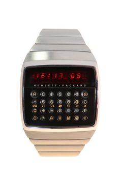 Hewlett Packard HP-01 Calculator Wristwatch vintage