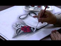 Mulher.com 29/05/2015 Luciano Meneses - Pintura em tecido Parte 2/2 - YouTube