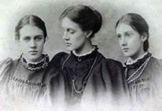 Vanessa, Stella & Virginia, 1896 ca.
