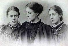 Vanessa, Stella & Virginia, 1896 ca.
